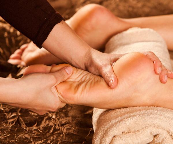 Massage étoile du corps